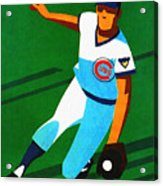 Chicago Cubs 1972 Official Program Acrylic Print
