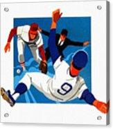Chicago Cubs 1974 Program Acrylic Print