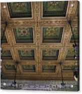 Chicago Cultural Center Staircase Ceiling Acrylic Print