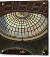 Chicago Cultural Center Tiffany Dome 01 Acrylic Print