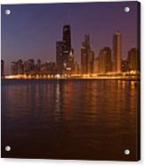 Chicago Dawn Acrylic Print