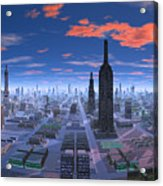 Chicago Daytime Image Acrylic Print