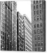 Chicago Faces Acrylic Print