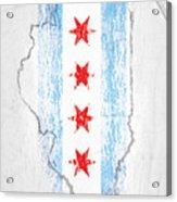 Chicago Flag Acrylic Print