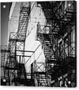 Chicago Fire Escapes 2 Acrylic Print