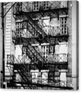 Chicago Fire Escapes 3 Acrylic Print