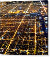 Chicago From Above 2 Acrylic Print