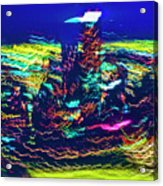 Chicago Gold Coast Abstract Acrylic Print