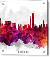 Chicago Illinois Cityscape 14 Acrylic Print