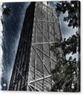 Chicago John Hancock In June Pa 01 Acrylic Print