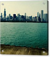 Chicago Lake Michigan Skyline Acrylic Print