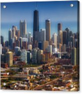 Chicago Looking East 01 Acrylic Print