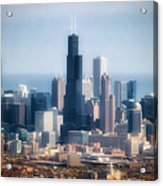Chicago Looking East 02 Acrylic Print