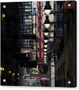 Chicago Loop, Goodman Theater Marguee Acrylic Print