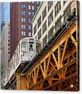 Chicago Loop 'l' Acrylic Print