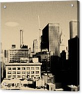 Chicago Loop Skyline Acrylic Print