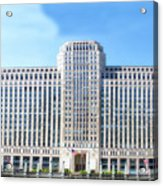 Chicago Merchandise Mart South Facade Acrylic Print