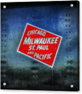 Chicago Milwaukee St. Paul And Pacific Acrylic Print