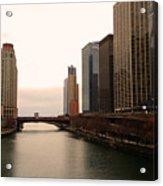 Chicago Rive Acrylic Print
