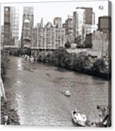 Chicago River Acrylic Print