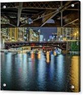 Chicago River Hd Acrylic Print