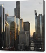 Chicago River View Acrylic Print