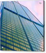 Chicago Sears Willis Tower Pop Art Acrylic Print