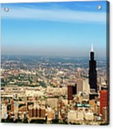 Chicago Skyline - 1990s Acrylic Print