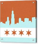 Chicago Skyline 540 3 Acrylic Print