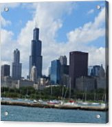 Chicago Skyline 7 Acrylic Print