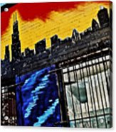 Chicago Skyline Acrylic Print