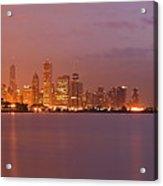 Chicago Skyline Panoramic 2 Acrylic Print