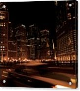 Chicago Streets Acrylic Print