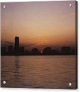 Chicago Sunset Acrylic Print