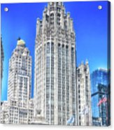 Chicago The Gothic Tribune Tower Acrylic Print