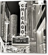 Chicago Theater - 2 Acrylic Print