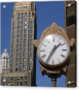 Chicago Time Acrylic Print