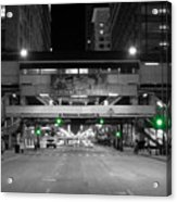 Chicago Train Station Acrylic Print