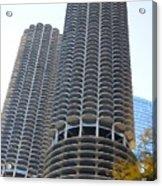 Chicago Twin Corn Cob Building  Acrylic Print