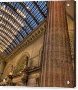 Chicago Union Station Column Acrylic Print