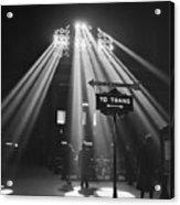 Chicago Union Train Station - 1943 Acrylic Print