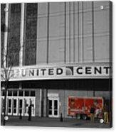 Chicago United Center Signage Sc Acrylic Print