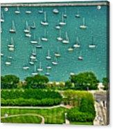 Chicago's Dusable Harbor  Acrylic Print