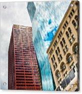 Chicago's South Wabash Avenue  Acrylic Print