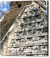Chichen Itza Up Close Acrylic Print