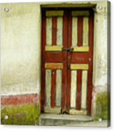 Chichi Door Acrylic Print
