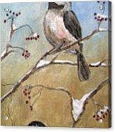 Chickadee Part 2 Acrylic Print
