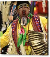 Pow Wow Chicken Dancer Acrylic Print