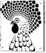 Chicken Tattoo  Acrylic Print
