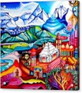 Chidananda Rupa Acrylic Print